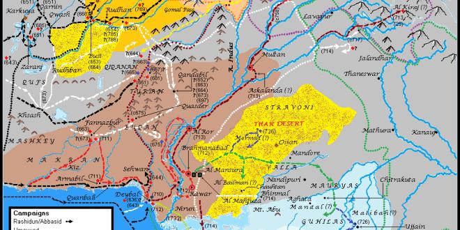 Sind-Hind-Map
