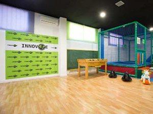 sala innovate futbolin y photocall