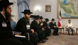 Iran-Zionis-Ahmadinejad menyambut rabi-rabi yahudi di teheran-3-jpeg.image