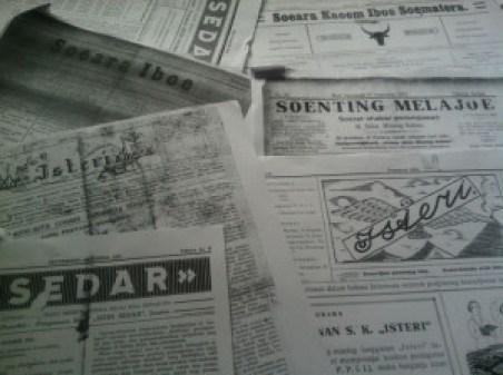 Hari Ibu-Beberapa surat kabar perempuan dimasa silam. Sumber foto Dok. pribadi Sarah Mantovani-jpeg.image