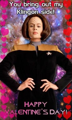 Voyager Valentine - B'Elanna Torres