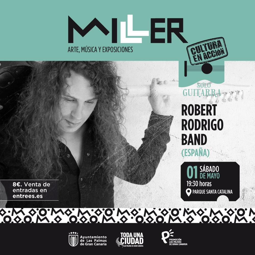 Robert Rodrigo Band Concierto