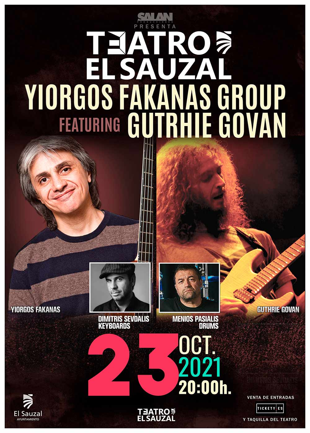 Yiorgos Fakanas Group Featuring Guthrie Govan el sauzal