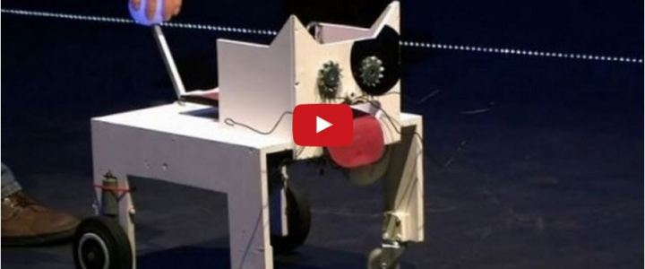 Um robô entra num bar…