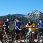 En bici por la sierra