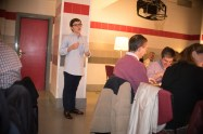 Gonzalo presenta la cena