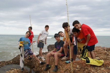 Todos pescando