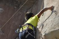 Cuarto y Quinto Escalando en el monolito de Rivas (19)