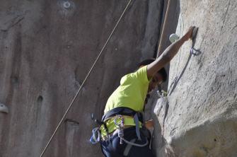 Cuarto y Quinto Escalando en el monolito de Rivas (22)