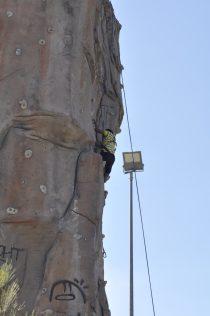 Cuarto y Quinto Escalando en el monolito de Rivas (27)