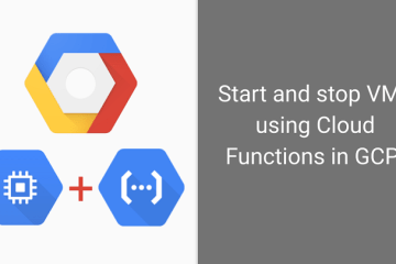 Start and Stop VMs in GCP Using HTTP Triggered Cloud Functions with Python