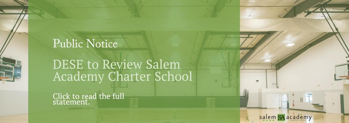 Salem Academy DESE Program Review