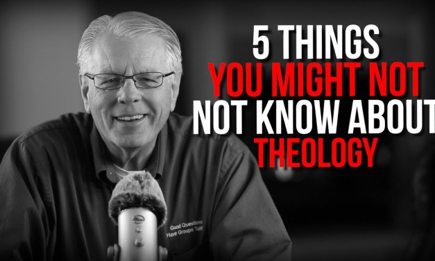 5 Things You might not know about theology