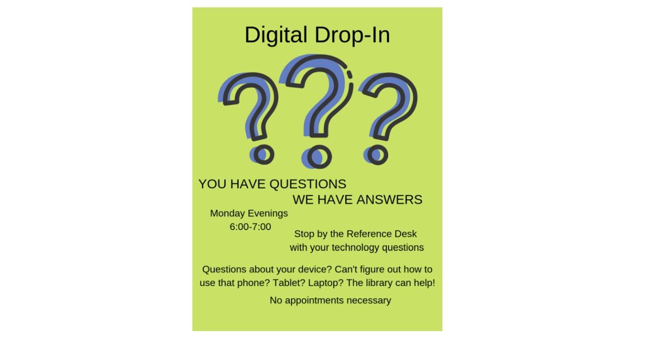 Digital Drop-in!