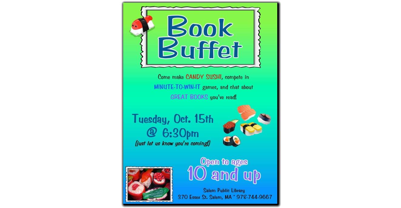 Book Buffet 2019-10-15