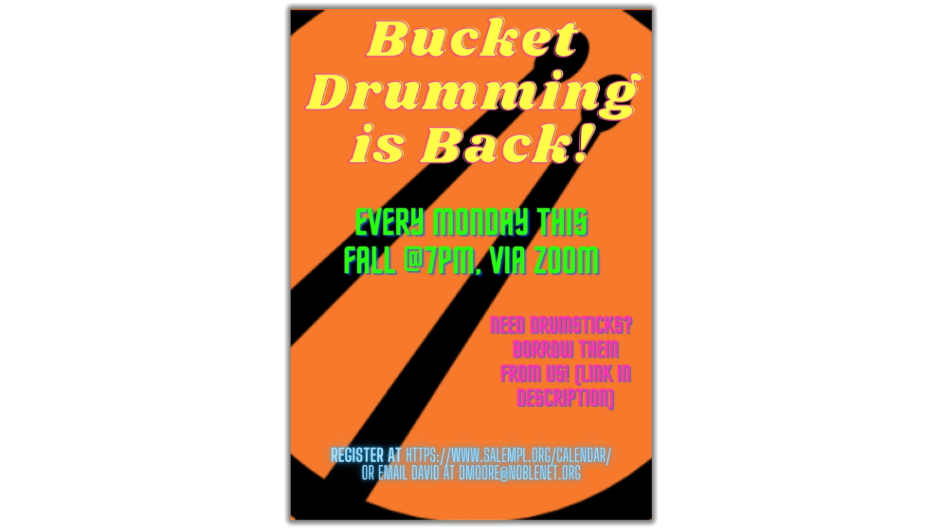 Bucket Drumming Is Back!