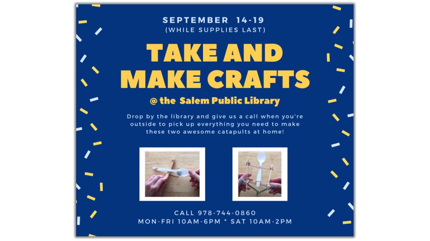 Take and Make Crafts