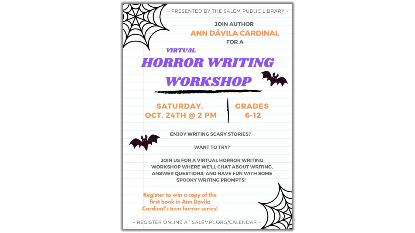 Creative Horror Writing Workshop