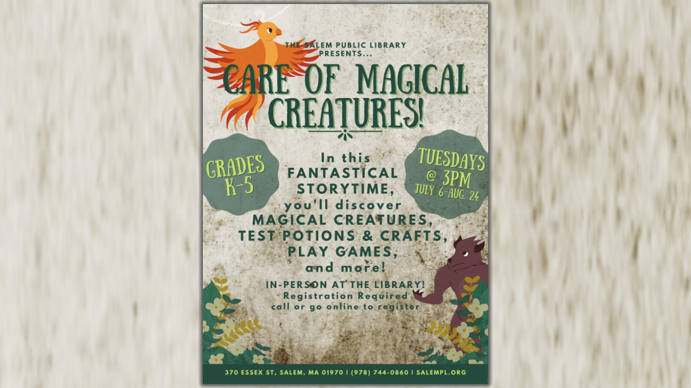 Care of Magical Creatures Storytime!
