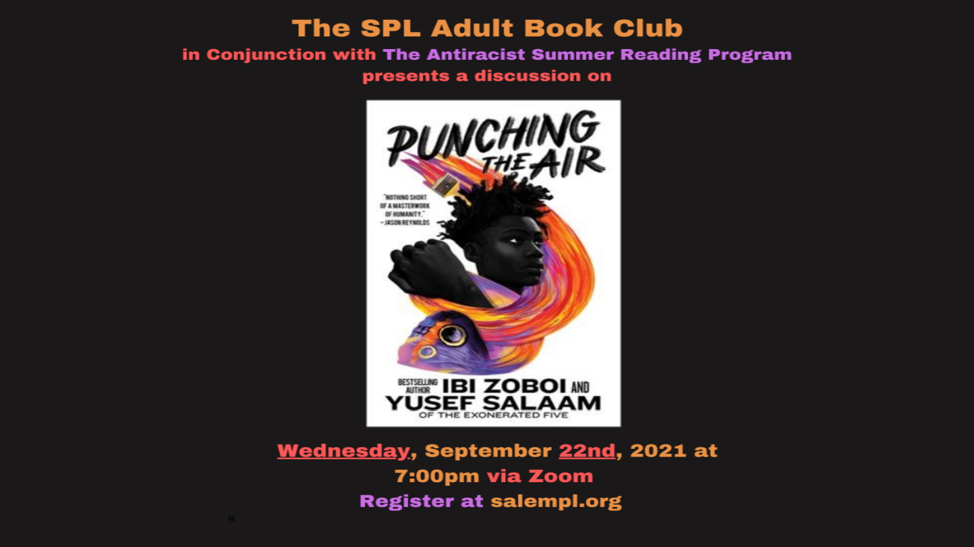 Adult Book Club Punching the Air