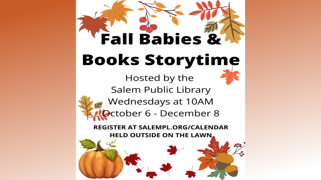 Babies and Books Storytime!