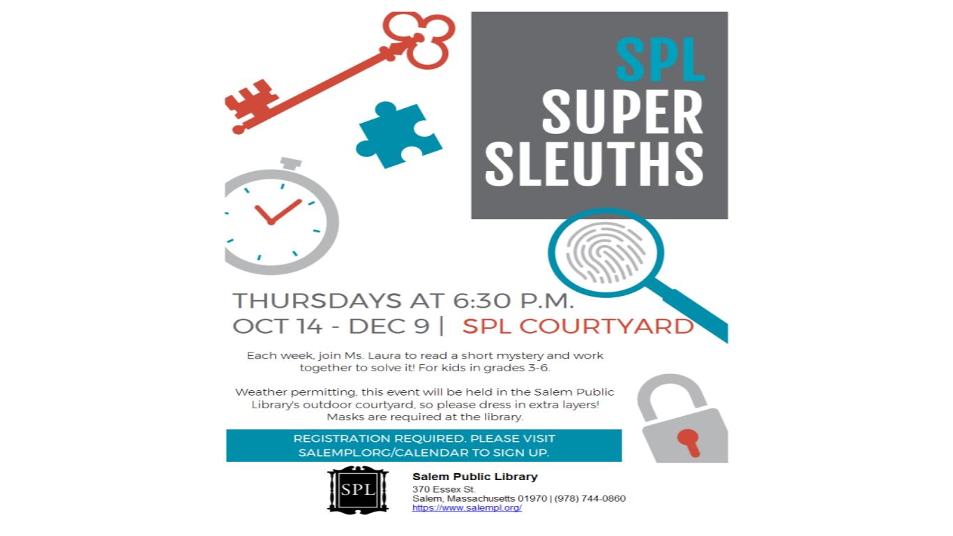 SPL Super Sleuths!