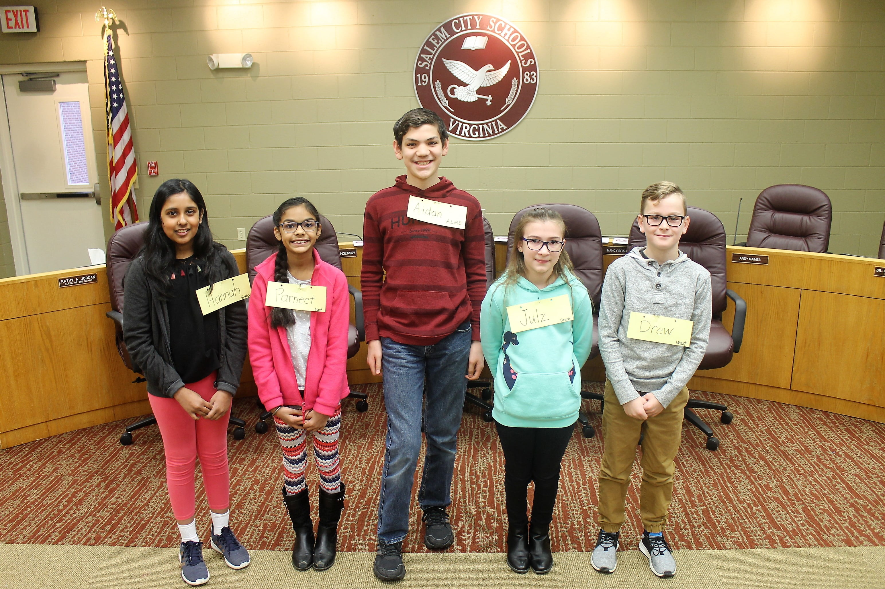 Andrew Lewis Middle School Eighth Grader Crowned Citywide