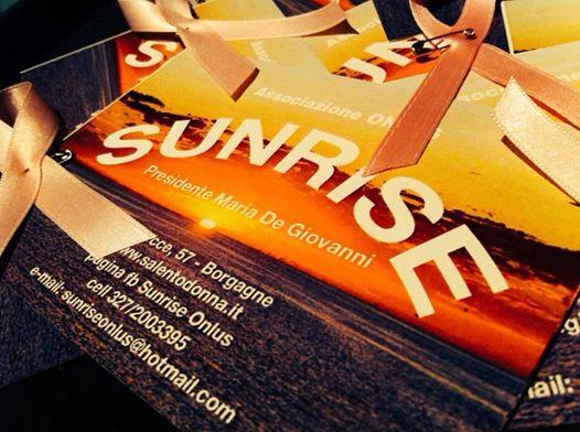 Sunrise Onlus di Borgagne l'associazione salentina on the road