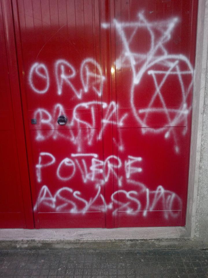 Atto vandalico a Melendugno