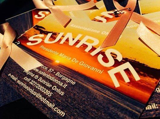 Sunrise, Premio Salento Donna conferenza stampa giovedi 11 agosto ore 17,30 Aula Consiliare Melendugno