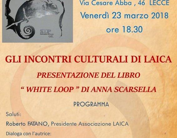 Locandina white loop