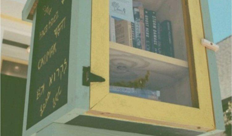 casetta dei libri - castro