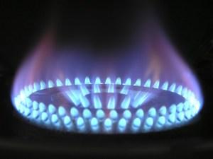fornello gas fiamma