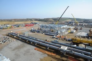 gasdotto tap stazione di compressione Kipoi - Grecia