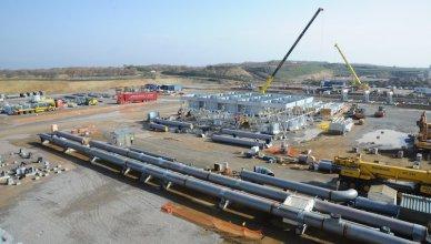gasdotto tap stazione di compressione Kipoi - Grecia - infrastrutture energetiche
