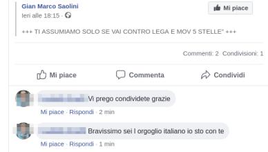 Ti assumiamo solo se vai contro Lega e M5S - orgoglio italiano