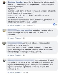 m5s vs gianluca maggiore