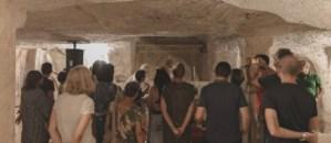 sulle tracce del medioevo - cripta san cassiano - ph buccarelli