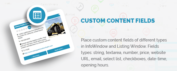 Custom Content Fields