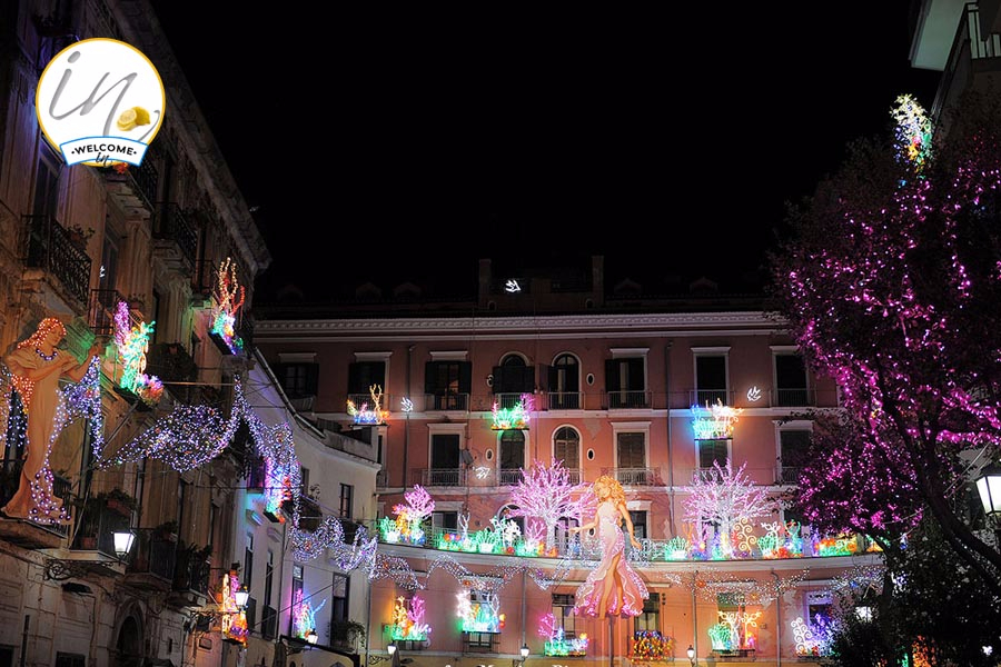 Salerno Luci d'Artista - Rotonda
