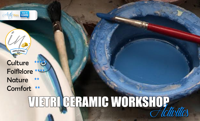 VIETRI CERAMIC workshop
