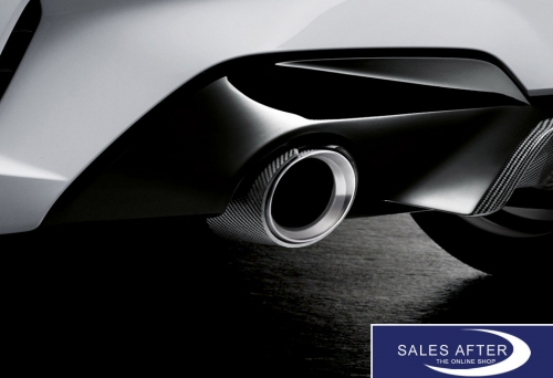 bmw m performance g20 g21 exhaust tips carbon