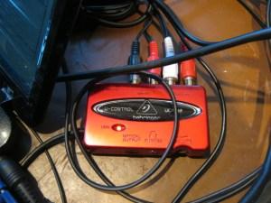 Podcast Studio USB Controller Behringer UCA202
