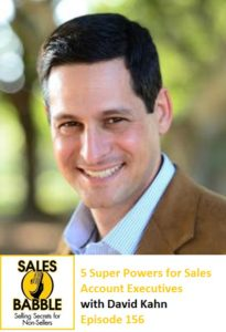 David Kahn 5 Superpowers of successful sales account executives