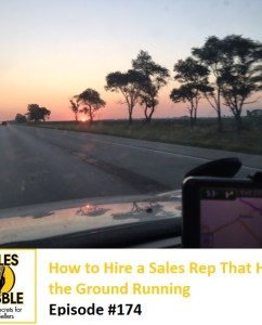 Sales Babble How To Hire a Sales Rep