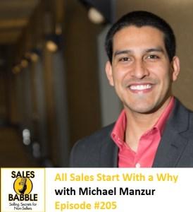 Michael Manzur Sales Babble