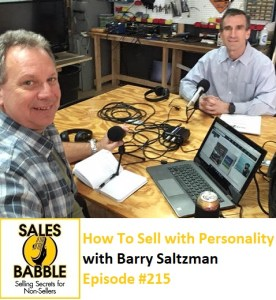 Barry Saltzman Sales Babble
