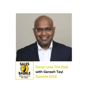 Ganesh Tayi Sales Babble