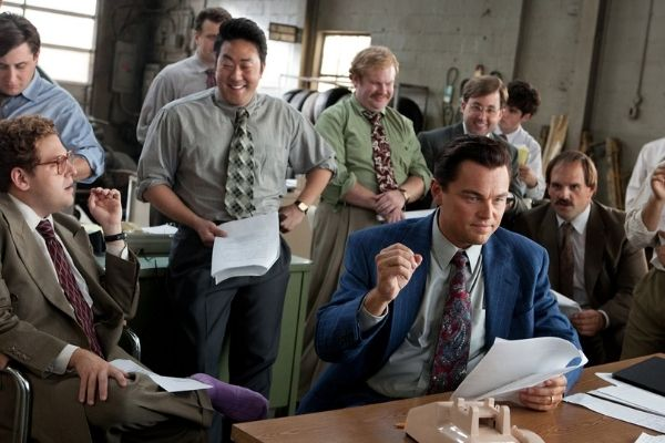 Sales Movies - Wolf of Wall St