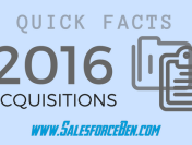 2016 Salesforce Acquisitions: Quick Fact Files